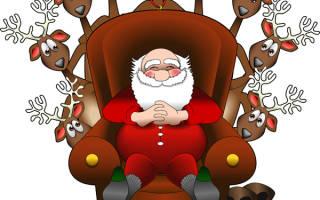 Помощник Санта Клауса.