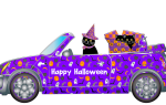 Поделки на Хэллоуин. Паучки.