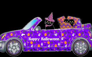 Поделки на Хэллоуин из бумаги. Паутина с пауками.