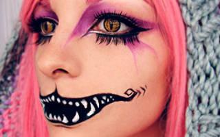 Поделки на Хэллоуин. Маска из глины «Страх».