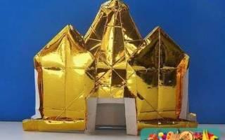 Оригами для детей. Дворец