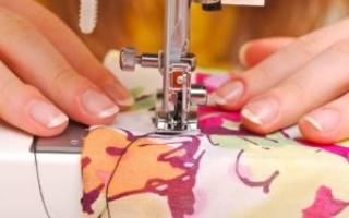 Использование лапок к швейным машинам.