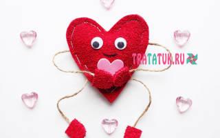 Подарки своими руками для любимых. Магнит на холодильник: дерево-сердечко с цветами из фоамирана