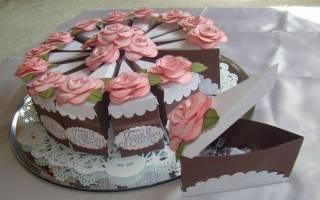 Торт желаний своими руками ко дню рождения.
