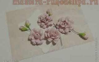 Скрапбукинг. Роза из бумаги.
