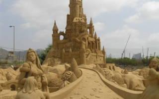 Замок из песка своими руками. Мастер-класс пошагово с фото