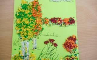 Корзина с цветами своими руками «Краски осени». Мастер класс с пошаговым фото