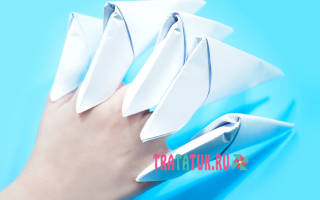 Как сделать когти из бумаги? Лучшие идеи с фото