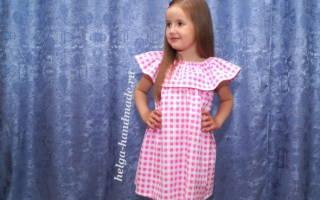 Летнее детское платье. Мастер класс по пошиву