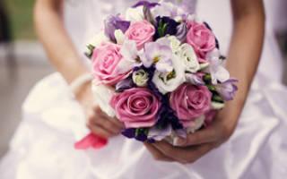 Букет из атласных лент. Розы для невесты. Мастер-класс