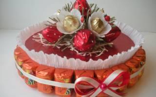 ТОП — 20 идей для рукоделия. Кораблик из конфет, поделки из пластилина, вязание и многое другое