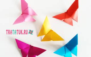 МК оригами с пошаговыми фото. Бочонок