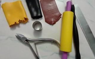 Комплект украшений из полимерной глины. Подсолнухи.