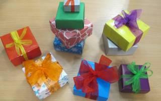 Коробка из бумаги. Схема оригами