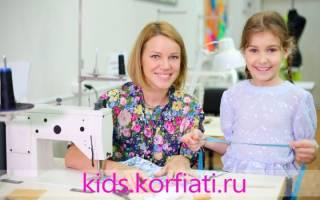 Детская одежда: особенности пошива для начинающих