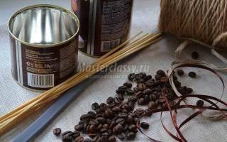 Топиарий для интерьера кофейный глобус.