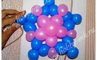 Мастер-класс. Поделки из воздушных шаров. Звезда