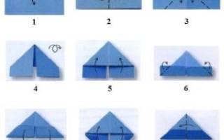 Кролик. Техника модульное оригами.