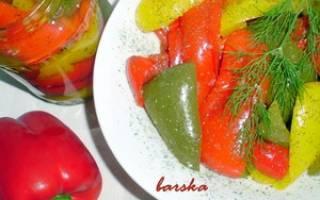 Консервирование перца: популярные рецепты с фото