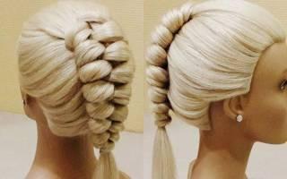 Венок из голландской косички: пошаговый мастер-класс по плетению