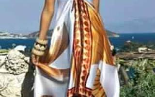Летний сарафан из платков. Выкройка и описание