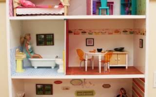 Как сделать домик для барби: фото и пошаговые идеи