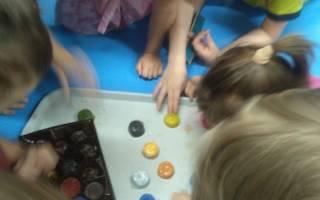 Разноцветные льдинки своими руками.