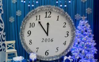 Декоративные часы .