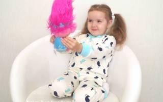 Детская пижама своими руками из тонкой ткани.