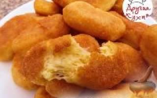 Сырные палочки. Рецепт с пошаговыми фото