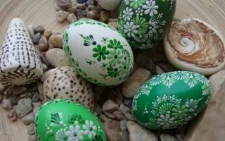 Мастер-класс по росписи деревянных пасхальных яиц акварельными красками