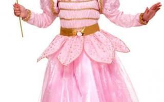Детские костюмы своими руками. Принцесса ночи.