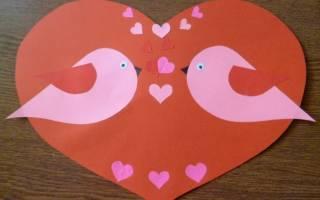 Валентинки своими руками: мастер класс с пошаговым описанием