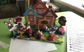 Кукольный театр из бумаги «Теремок». Мастер — класс