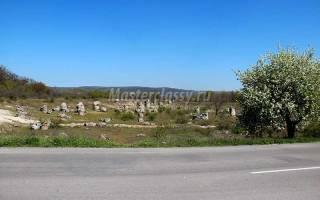 Отдых в Болгарии. Каменный лес в Варне. Фото