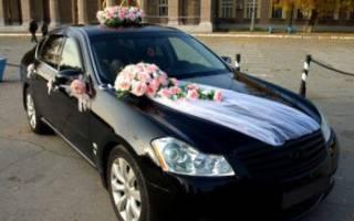 Украшения для свадебных машин своими руками.