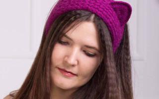 Повязка на голову для девочки крючком:  пошагово