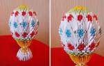 Пасхальное яйцо. Модульное оригами. Подробный пошаговый мастер класс