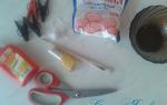 Как сделать тычинки для создания цветов.