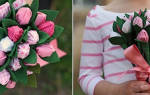 Букет из конфет своими руками. Полевые цветы.