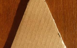 Елочка-магнит из тесьмы, бисера и бумаги. Мастер-класс