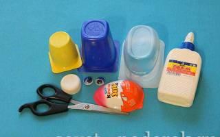 Поделки из пластиковых стаканов. Кукла — весна. Мастер класс