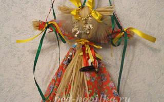 Традиционная народная кукла Коза своими руками. Мастер-класс