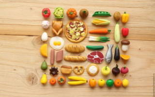 Еда из пластилина для кукол. Торт: