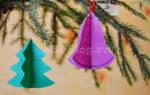 Детские поделки на новый год 2013