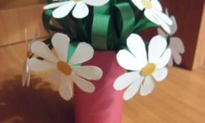 Поделки из бумаги своими руками. Букет цветов.