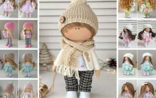 Куклы своими руками. Снежка или большеногий ангел.